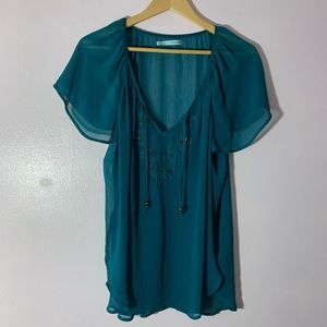 Maurices Chiffon Top